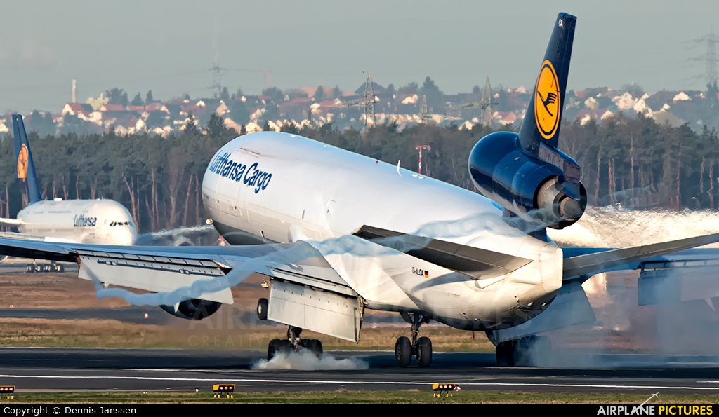 Lufthansa Cargo D-ALCA aircraft at Frankfurt