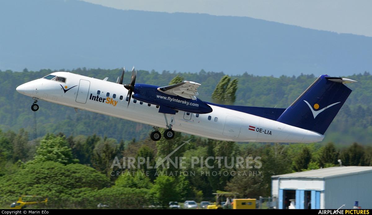 Intersky OE-LIA aircraft at Graz