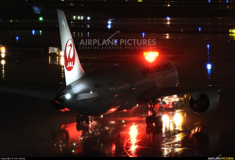 JAL - Japan Airlines JA831J aircraft at Tokyo - Haneda Intl