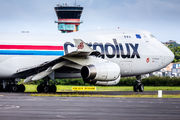 First visit of Cargolux in Guadeloupe title=