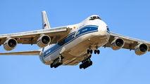 Volga Dnepr Antonov An-124 in Los Angeles title=