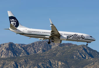 N459AS - Alaska Airlines Boeing 737-900ER