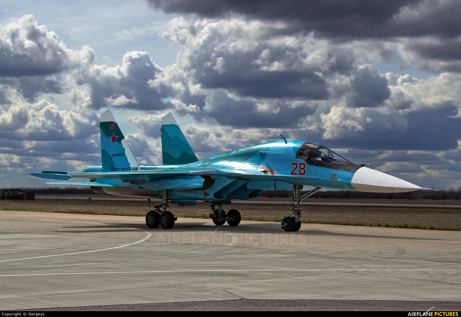 Russia - Air Force 28 aircraft at Undisclosed Location