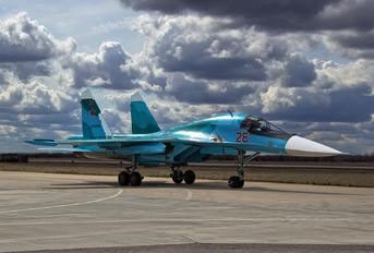 28 - Russia - Air Force Sukhoi Su-34