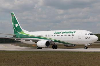 YI-ASJ - Iraqi Airways Boeing 737-800