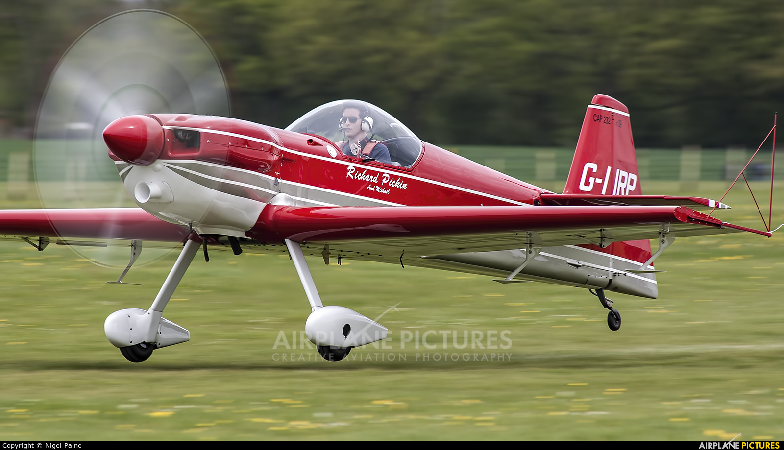 Private G-IIRP aircraft at Lashenden / Headcorn