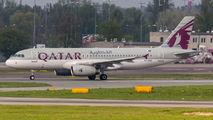 A7-AHE - Qatar Airways Airbus A320 aircraft