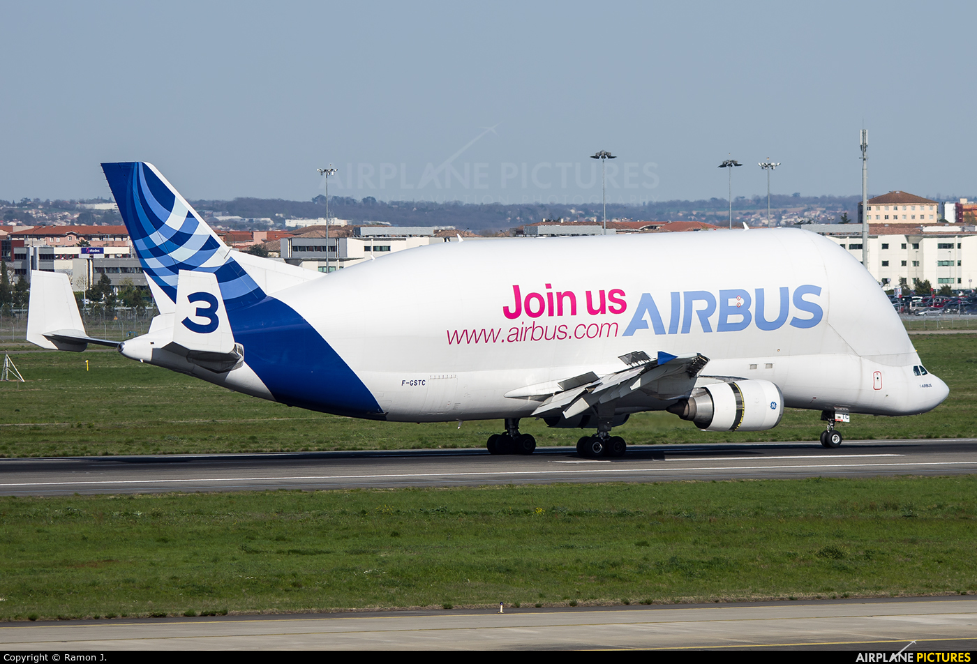 Airbus Industrie F-GSTC aircraft at Toulouse - Blagnac