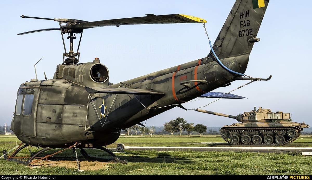 Brazil - Air Force 8702 aircraft at Pirassununga (Campo Fontenelle)