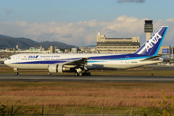 JA602A - ANA - All Nippon Airways Boeing 767-300
