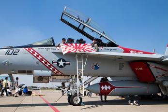 166917 - USA - Navy Boeing F/A-18F Super Hornet