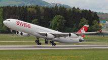 HB-JMN - Swiss Airbus A340-300 aircraft