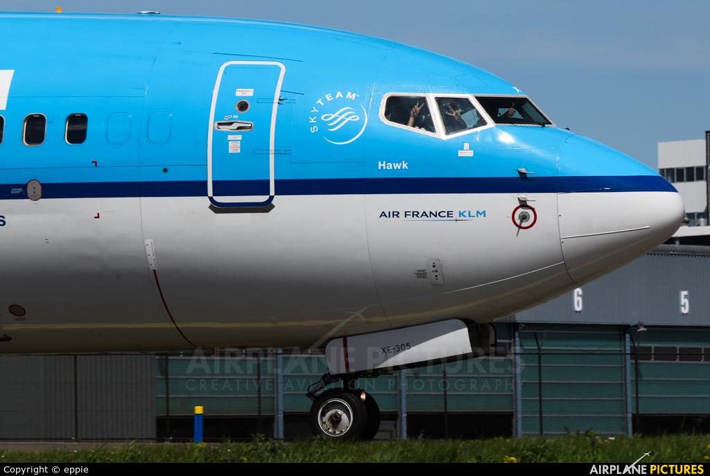 KLM PH-BXE aircraft at Amsterdam - Schiphol