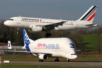 F-GRHI - Air France Airbus A319