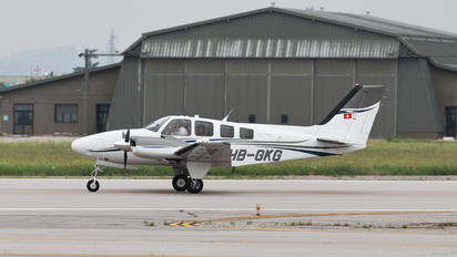 HB-GKG - Private Beechcraft 58 Baron