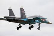 22 - Russia - Air Force Sukhoi Su-34 aircraft