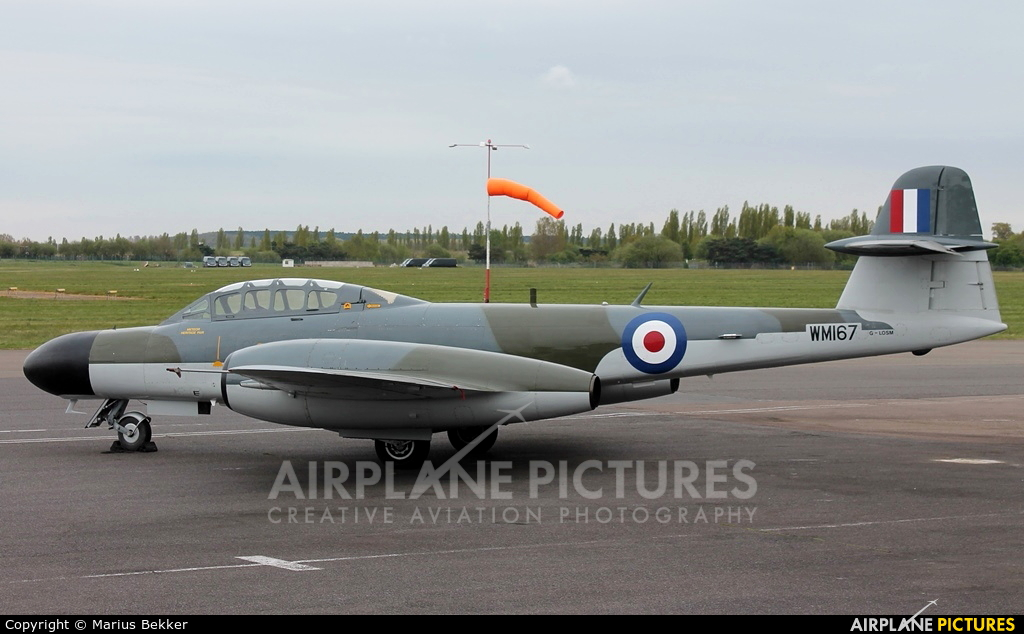 Classic Air Force G-LOSM aircraft at Coventry