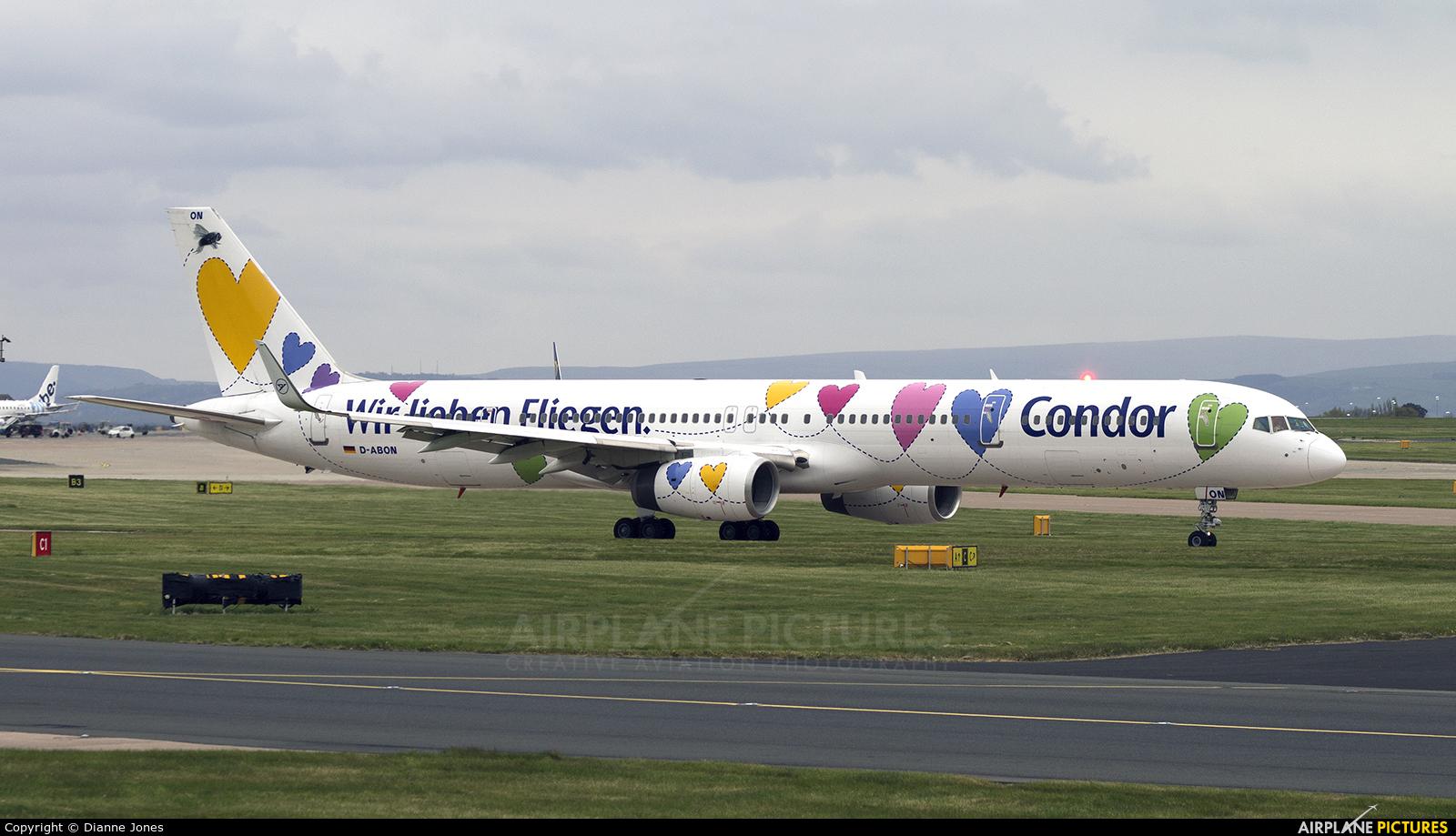 Condor D-ABON aircraft at Manchester