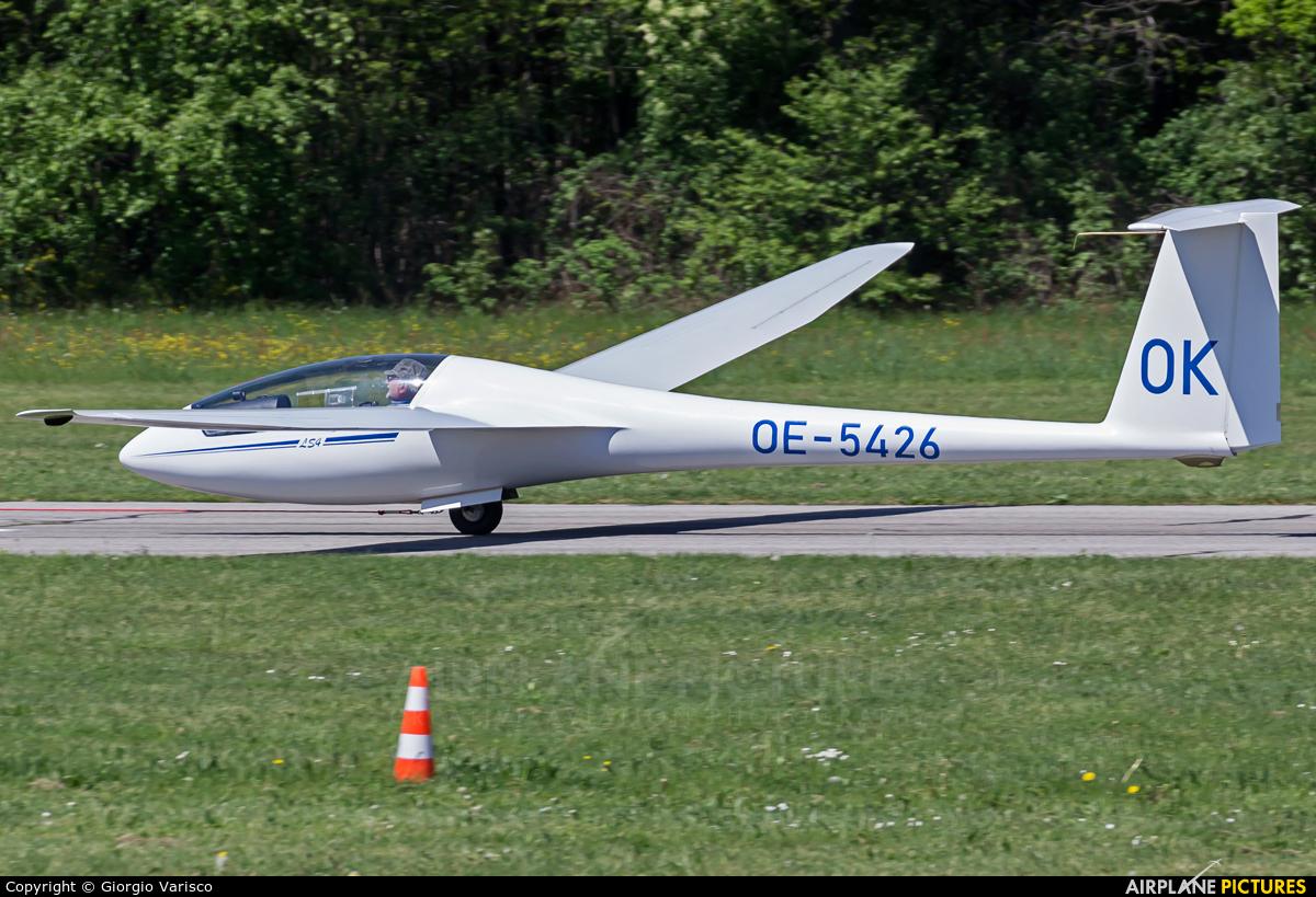 Private OE-5426 aircraft at Alzate Brianza