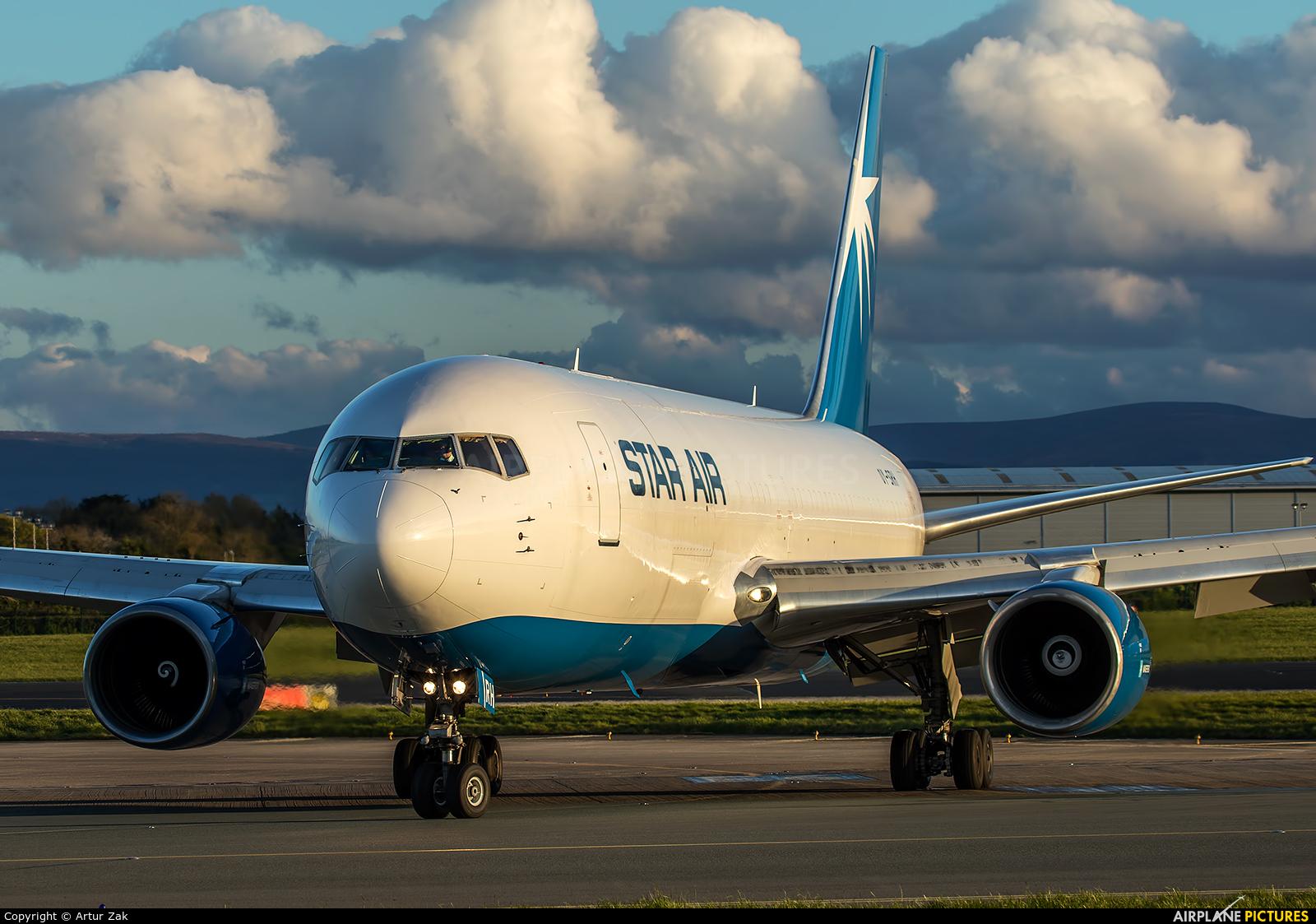 Star Air Freight OY-SRH aircraft at Dublin