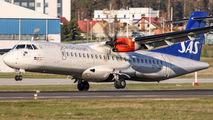 OY-JZG - SAS - Scandinavian Airlines ATR 72 (all models) aircraft