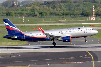 VQ-BSU - Aeroflot Airbus A320