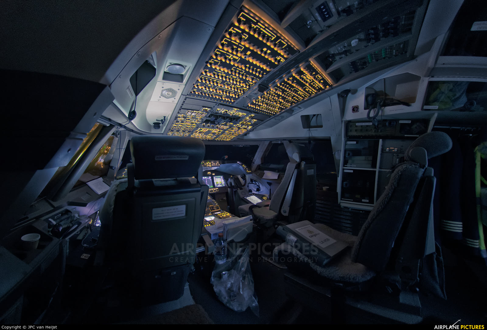Cargolux LX-VCB aircraft at In Flight - International