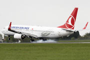 TC-JGD - Turkish Airlines Boeing 737-800 aircraft