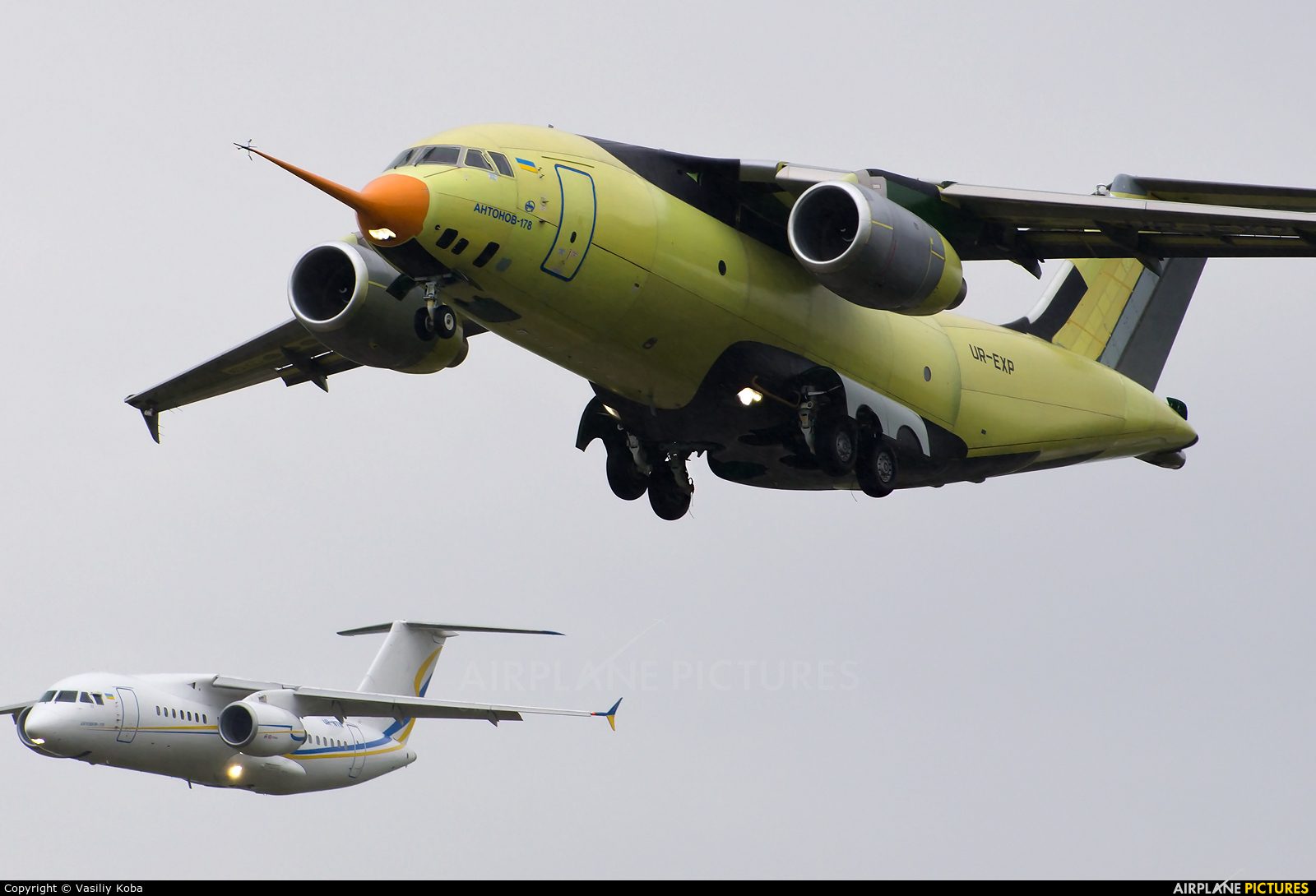 Antonov Airlines /  Design Bureau UR-EXP aircraft at Kyiv - Gostomel