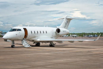 N313V - Private Bombardier BD-100 Challenger 300 series