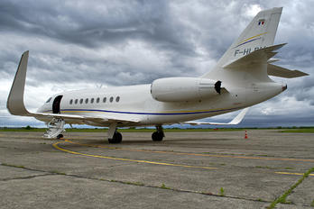 F-HLPM - Michelin Air Services Dassault Falcon 2000 DX, EX