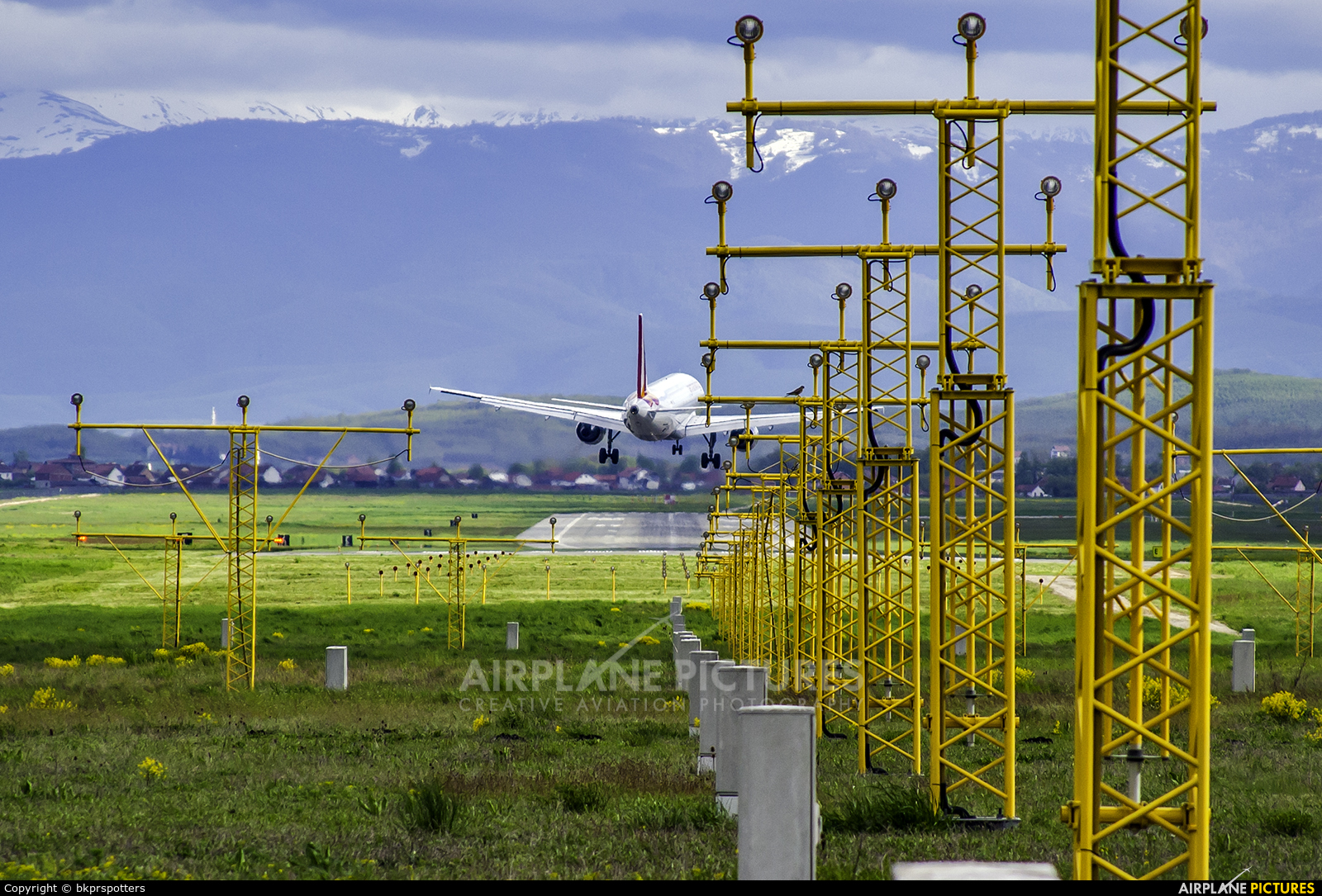 - Airport Overview - aircraft at Pristina Intl