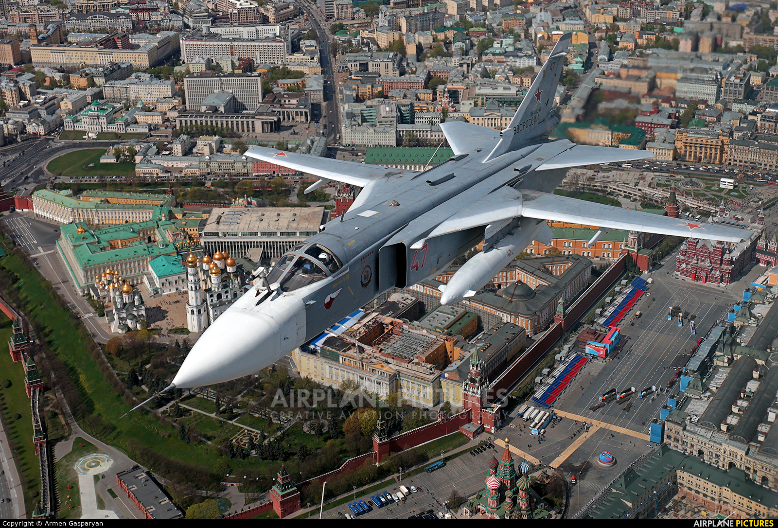 Russia - Air Force 47 aircraft at Off Airport - Russia