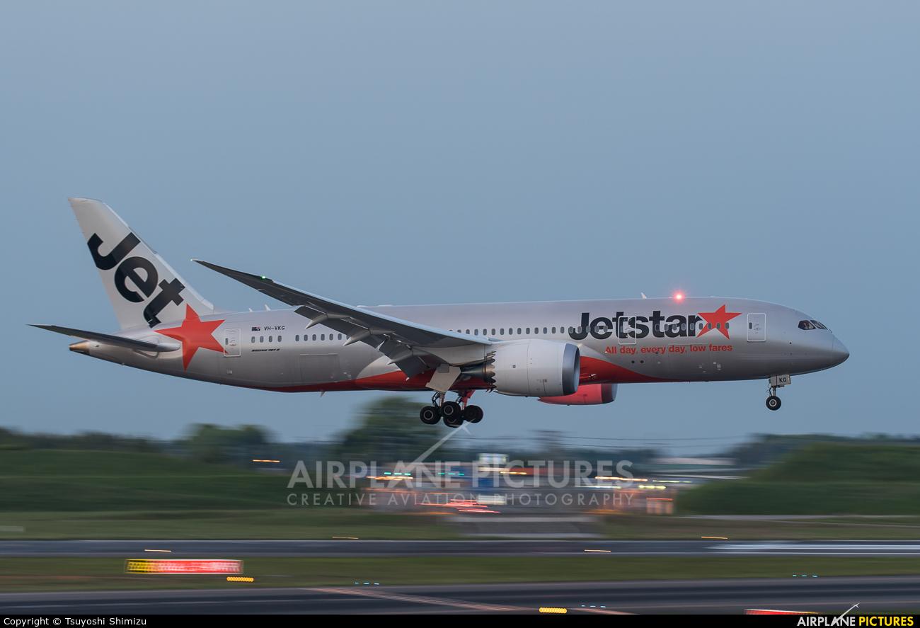 Jetstar Airways VH-VKG aircraft at Tokyo - Narita Intl