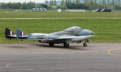 G-HELV - Aviation Heritage de Havilland DH.115 Vampire T.55