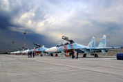 23 - Russia - Air Force Sukhoi Su-30SM aircraft