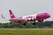 TF-MOM - WOW Air Airbus A321 aircraft