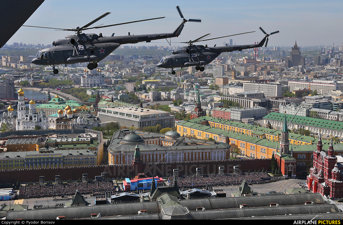 Russia - Air Force 25 aircraft at In Flight - Russia