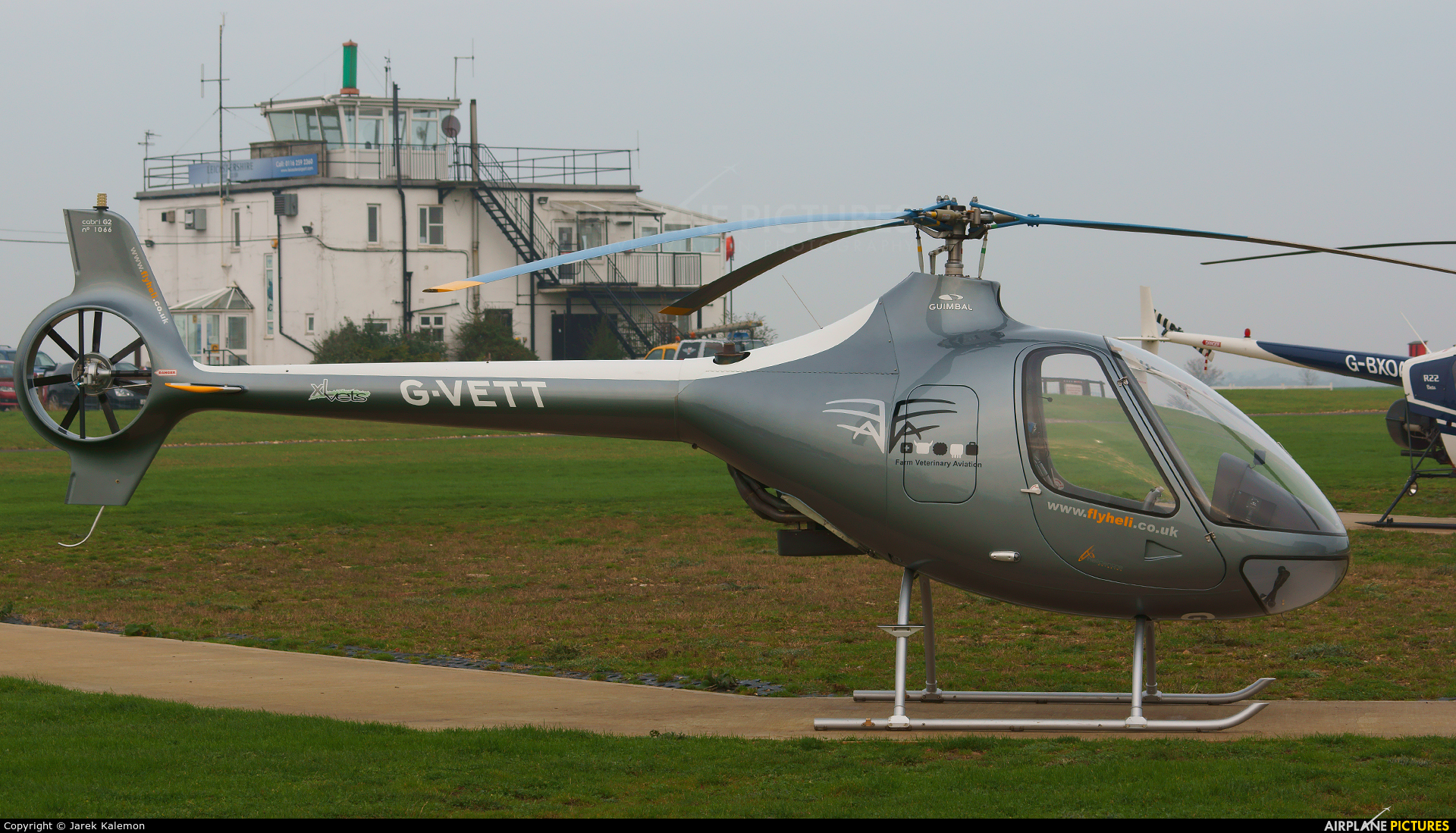 Private G-VETT aircraft at Leicester