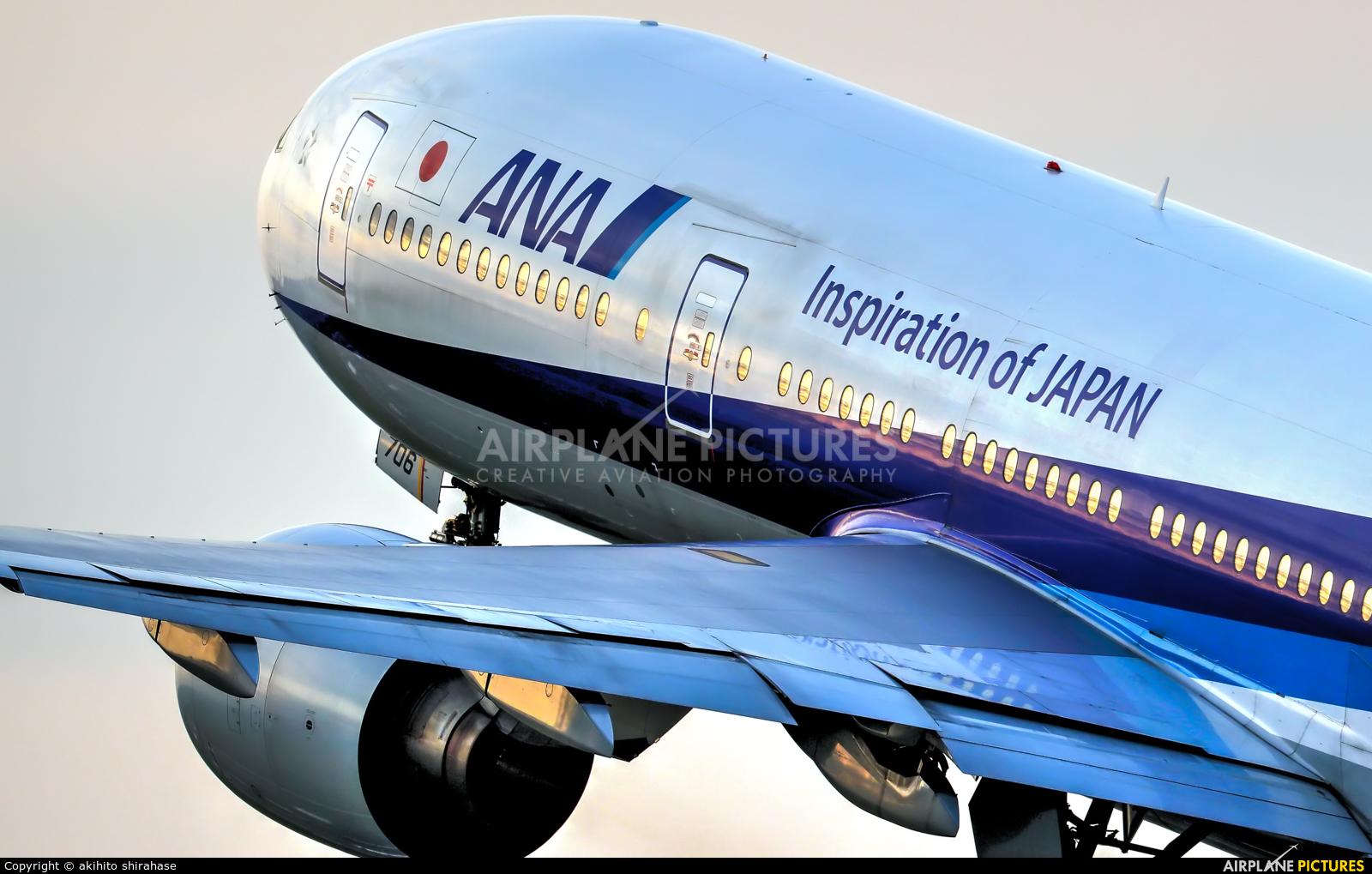 ANA - All Nippon Airways JA706A aircraft at Osaka - Itami Intl