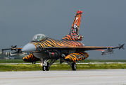 New tiger colours for Turkish Air Force demo F-16C title=