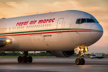 CN-ROW - Royal Air Maroc Boeing 767-300ER