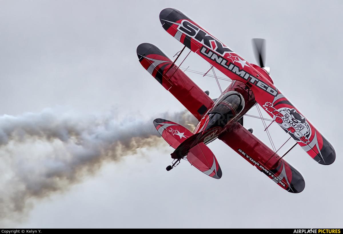 Sky  Academy PH-PEP aircraft at Uden - Volkel
