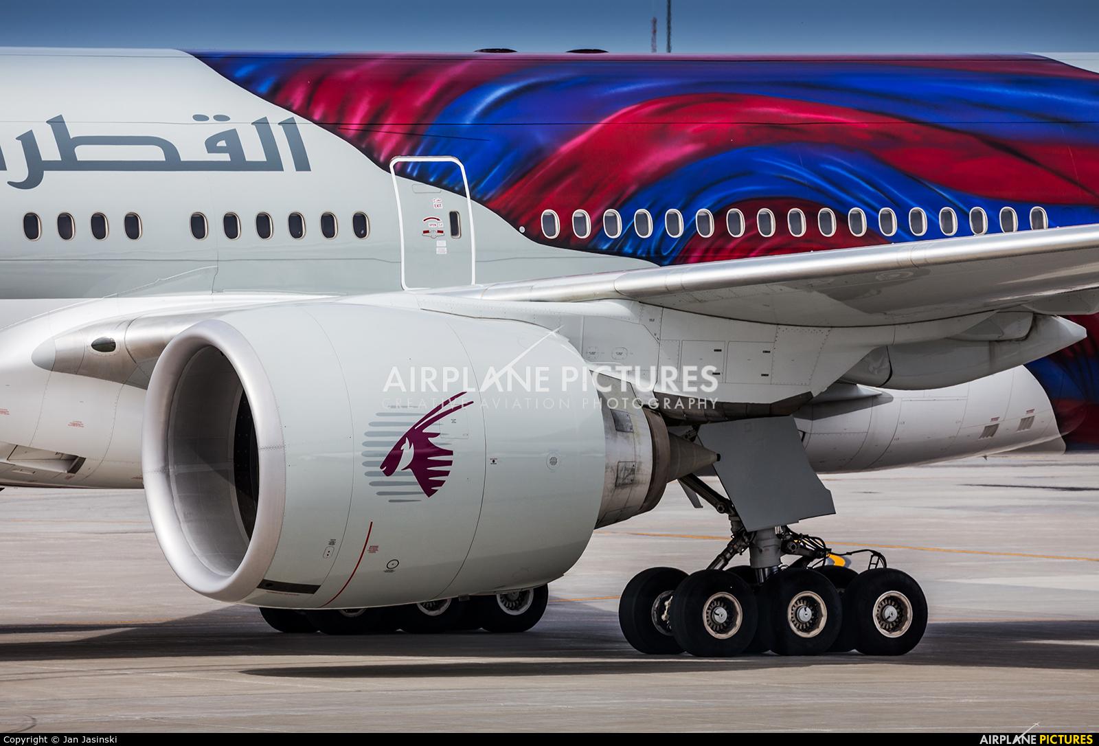 Qatar Airways A7-BAE aircraft at Montreal - Pierre Elliott Trudeau Intl, QC