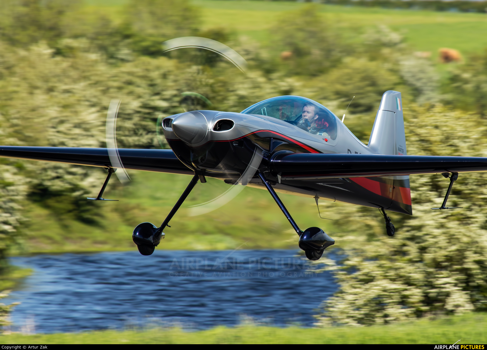 Private D-ECXA aircraft at Abbeyshrule