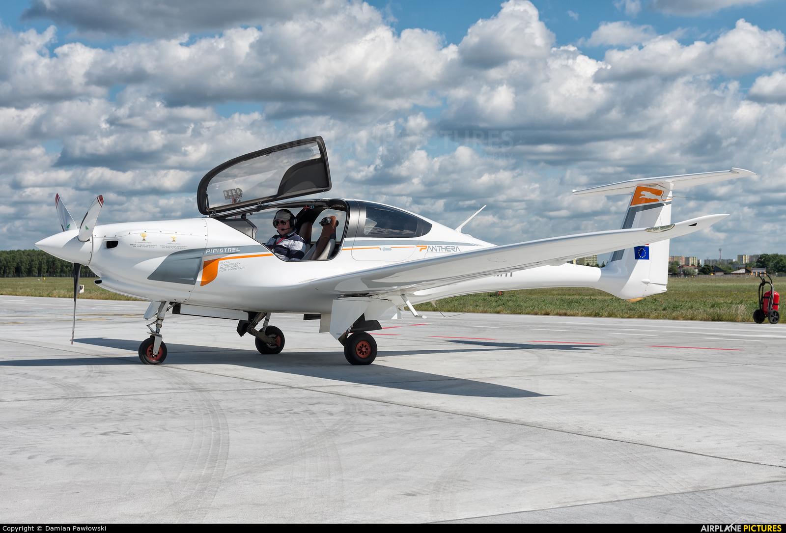 Pipistrel S5-MTP aircraft at Bydgoszcz - Szwederowo