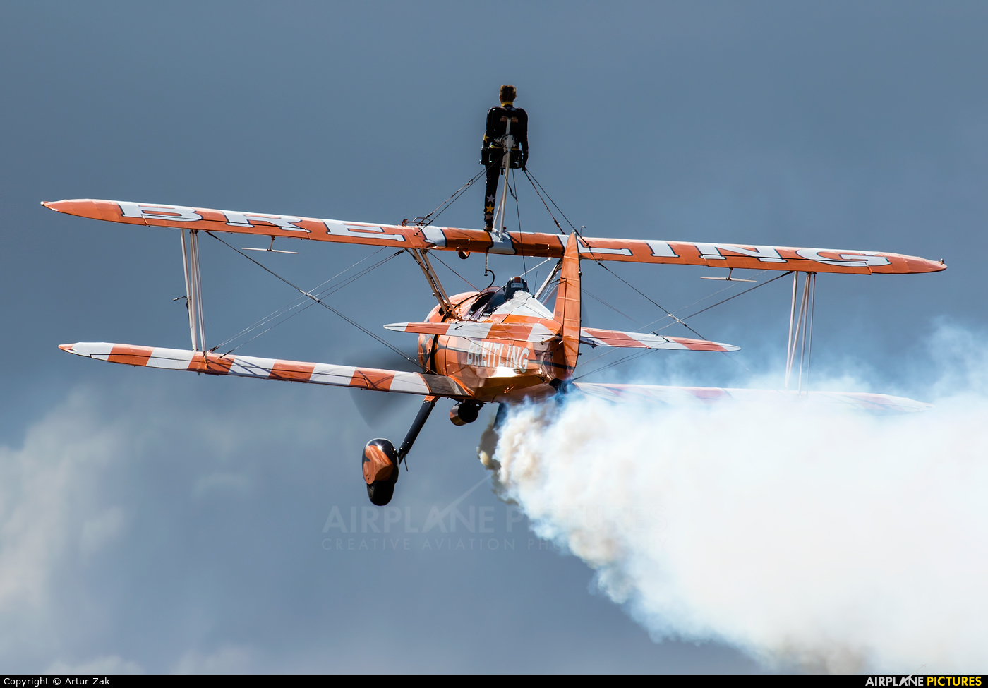 Breitling Wingwalkers N5057V aircraft at Abbeyshrule