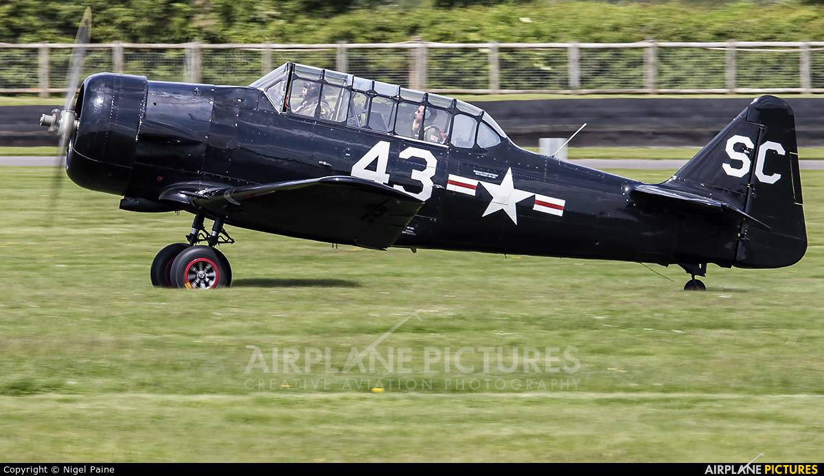 Goodwood Aero Club G-AZSC aircraft at Chichister / Goodwood