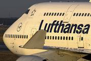 D-ABVN - Lufthansa Boeing 747-400 aircraft
