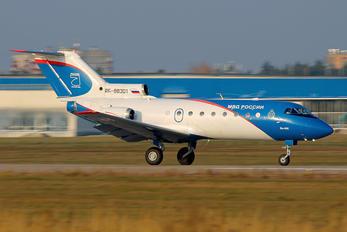RF-88301 - Russia - Police Yakovlev Yak-40